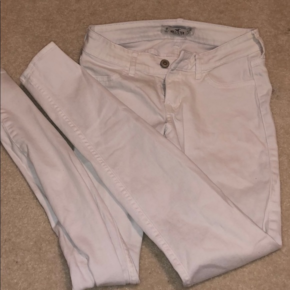 Hollister Denim - Hollister White Skinny Jeans